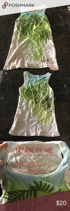 Great China Wall tank Great China wall tank. Excellent condition. One size but fits like a small Great China Wall Tops Tank Tops