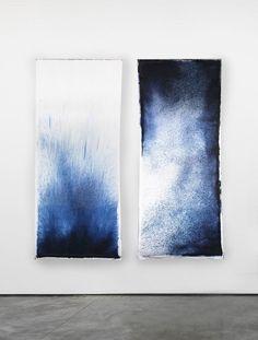 Shop Anna Badur contemporary seating, tableware, textiles, accessories and more. Art Bleu, Art Et Design, Cyanotype, Blue Art, Oeuvre D'art, Oeuvres, Painting Inspiration, Textile Art, Fiber Art