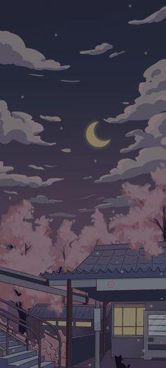 Cute Pastel Wallpaper, Anime Scenery Wallpaper, Cute Patterns Wallpaper, Landscape Wallpaper, Cute Anime Wallpaper, Cute Wallpaper Backgrounds, Pretty Wallpapers, Cute Cartoon Wallpapers, Animes Wallpapers