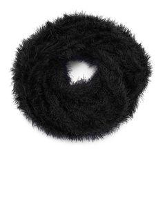 Ultraluxe scarf made from cuddly soft eyelash yarn. Love!