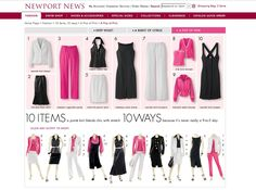 10 items 10 ways originally from Newport News (pink)