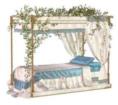 stock photo : Old four-poster bed Four Poster Bed, Photoshop, Dream Bedroom, Outdoor Furniture, Outdoor Decor, Shabby Chic, Stock Photos, Modern, Home Decor