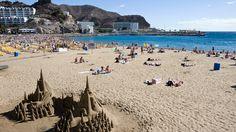 Tee omat hiekkaluomuksesi Puerto Ricon rannalle. #PuertoRico  #GranCanaria #Kanariansaaret #CanaryIslands
