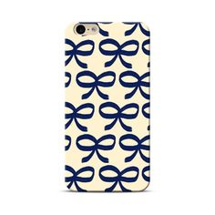 iPhone 6S, 6 Navy Bows Case