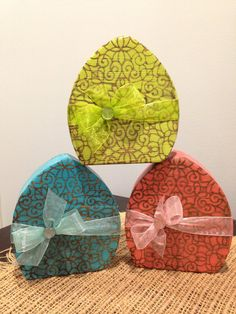 Easter decorations. Easter eggs. Easter wood decor. by ModernPrims