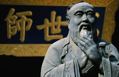 Confucius was a Chinese philosopher who took an older form of study and turned it into a philosophy of how to get along in the world.