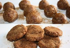 Macadamia Date Cookies, all natural!