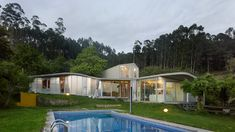 Beautiful house in Spain Contrasts of Old and New: A Generously Lit Single Family House in Spain
