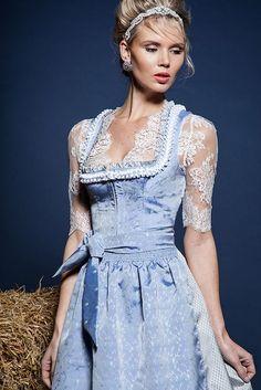 Ludwigs' Top 4 favorite Dirndl Designers – www. Oktoberfest Outfit, Flattering Dresses, Nice Dresses, Dirndl Dress, European Girls, German Fashion, Maid Dress, Folk Fashion, Feminine Dress