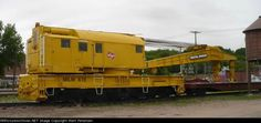 200 Ton Crane X-19 Work Train, Railroad Pictures, Milwaukee Road, Toy Trains, Railroad Photography, Rail Car, Snow Plow, Car Tools, Diesel Locomotive