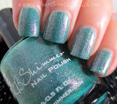 KBShimmer~ Teal another Tail Nail Polish Blog, Nail Polish Colors, Cute Nail Art, Cute Nails, Swatch, Teal, Nail Stuff, Indie Brands, Collection
