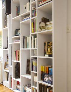 librero simples modernos - Buscar con Google Bedroom Bookcase, Muebles Living, Book Racks, Bookshelves, Bookshelf Ideas, Textured Walls, Built Ins, Scandinavian Design, Minimalist Design