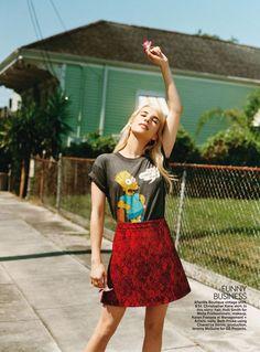 Emma Roberts for Teen Vogue November 2015