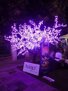 albero a led modello pesco  2560 LEDS          consumo 153 w dimensioni  Ø DIAM MT 2,5 X MT 3H