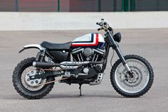 #HarleyDavidson Scrambler #motorcycles #scrambler #motos | caferacerpasion.com