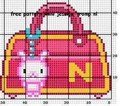 94 Free cross stitch designs bags stitchingcharts borduren gratis borduurpatronen tassen kruissteekpatronen