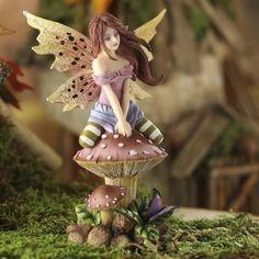 Pastel Toadstool Gaea Fairy #fairygarden #factorydirectcraft