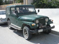 Jeep CJ années 1970 (Crête 2015)