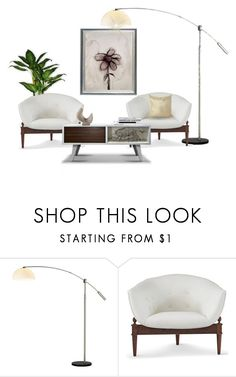 """Urbane style"" by vonshelman ❤ liked on Polyvore featuring interior, interiors, interior design, home, home decor, interior decorating, Adesso and Christopher Guy"