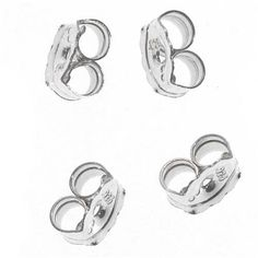 Sterling Silver Earring Backs (Earnuts) Fine Jewelry Findings, Beaded Jewelry, Sterling Silver Earrings, Silver Rings, Plain Tees, Discount Makeup, Cheap Hoodies, How To Make Earrings, Earring Backs