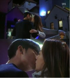 "'You Who Came from the Stars"" Kim Soo Hyun Kisses Jun Ji Hyun"