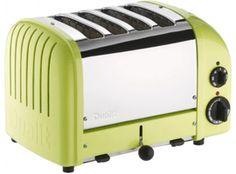 Dualit Classic Vario AWS Lime Green 4 Slot Toaster
