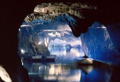 Lac souterrain St. Leonard, Suisse