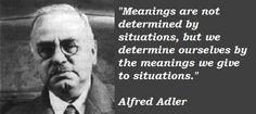 Favorite Adler quote