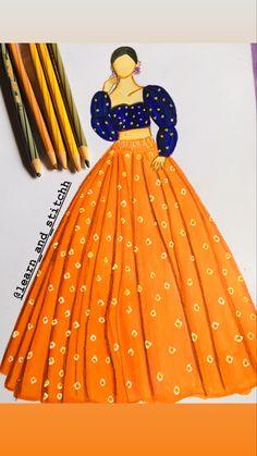 Gown Drawing, Dress Design Drawing, Dress Design Sketches, Fashion Design Drawings, Fashion Sketches, Dress Illustration, Fashion Illustration Dresses, Fashion Drawing Tutorial, Fashion Drawing Dresses