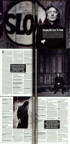 Alan Rickman / Andreas Neubauer's Photoshoot