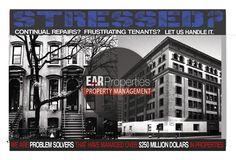 EAR Properties flyer  https://www.behance.net/Artrepreneurship
