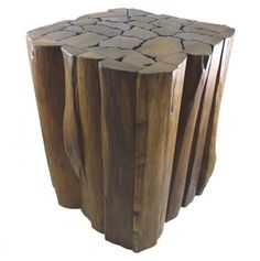 Wood Accent Table/Stool