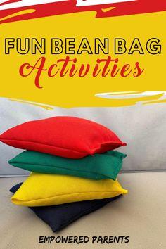 20 Bean Bag Activities Your Kids Will Love