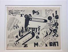 Une Assemblée tumultueuse, Fillipo Marinetti 1919. Barulho e velocidade, duas condições dominantes da vida do século XX, eram expressos na poesia futurista.