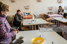 02-25 DNIPRODZERZHINSK, UKRAINE - OCTOBER 11: A woman prepares... #dniprodzerzhynsk: 02-25 DNIPRODZERZHINSK, UKRAINE -… #dniprodzerzhynsk