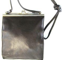 Bechamel Women Leather Shoulder Bag Brown.  MMM 54 #Bechamel #ShoulderBag