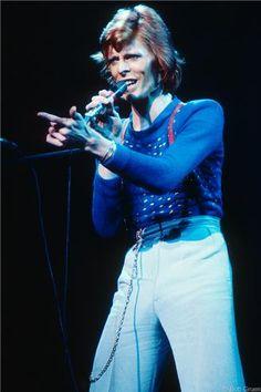 David Bowie, NYC - 1974 | Bob Gruen