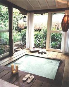 Waaaaaaaay in the future. Under matts porch, add a sliding glass door to the master