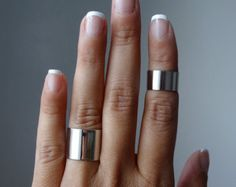 Ashkal Silver Knuckle Ring Set #silver #ring #mid #hands #Spring #SS15 #style #jewelry #fashion #festival_fashion #handmade #cool