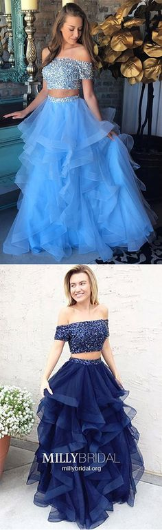 Long Prom Dresses with Sleeves,Two Piece Prom Dresses Royal Blue,Cheap Quinceanera Dresses For Girls,Modest Prom Dresses A-line,Sparkly Prom Dresses Off-the-shoulder Cheap Quinceanera Dresses, Sparkly Prom Dresses, Royal Blue Prom Dresses, Prom Dresses For Teens, Prom Dresses 2018, Prom Dresses Online, Trendy Dresses, Dress Prom, Party Dresses