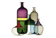 Bolle Bottles by Tapio Wirkkala for Venini « The Mid-Century Modernist