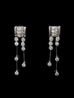 Stud Diamond Earrings Diamond Earrings, Jewelry, Jewlery, Jewerly, Schmuck, Jewels, Jewelery, Diamond Drop Earrings, Fine Jewelry