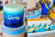 beach themed first birthday party for owen » Amanda Pair Photography Blog