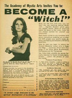 Pretty sure mail-order witchcraft is not effective.