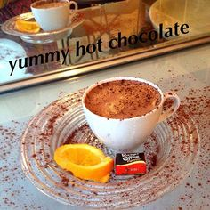 Love hot chocolate and love this picture!!#hotchocolate #ststephenstreet #stockbridgeedinburgh #coffee