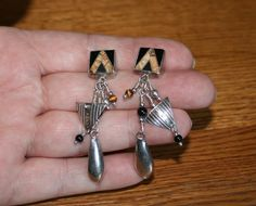 Tabra Tribal Post Earrings Plus Free USA Shipping! by Route66Diner on Etsy