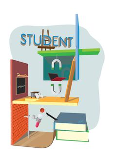 Student Illustration on Behance