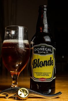Beer handcrafted at Donegal Brewing Company in County Donegal, Ireland.
