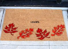 And there you go! | This DIY Doormat Will Give You Instant Curb Appeal