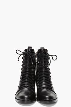 Alexander Wang Leather Andrea Boots Flat Boots, Crazy Shoes, Me Too Shoes,  Black fa2b35fe0d5a